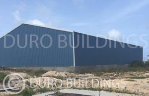 Durobeam Steel 80x150x26x39 Metal Clear Span Very Tall Building Structure Direct