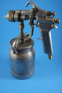 Vintage Devilbiss Type Mbc Paint Spray Gun 765 Tip Binks Untested