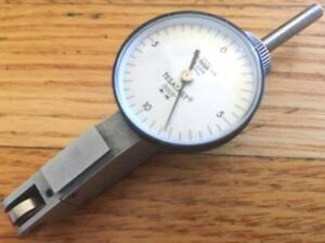 Tesatast 18 20008 Dial Test Indicator With Dove Tail Holder 0005 Graduations
