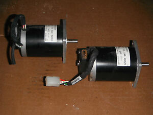 Lot Of 2 Nema 23 Stepper Motors With Encoders 4626