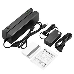 It Osayde 606 Credit Card Magnetic Stripe Reader Writer With 20 Blank Cards