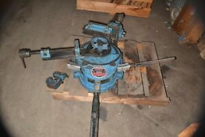 Parker 848 Maintenance Tube Bender Good Condition