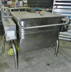 Groen 30 Gallon Tilting Skillet Braising Pan Gas Hfp ie 3