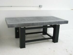 Tested Starrett Inspection Optical Table Tmc Rigid Bench Granite Surface Plate
