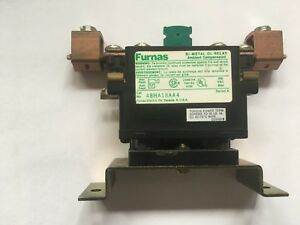 Furnas Thermal Relay 100 Amp Overload Oem 48ha18aa4 With K85 Thermal Heater