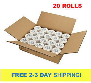 Mflabel 20 Rolls Of 250 4x6 Direct Thermal Blank Shipping Labels For Zebra 2844