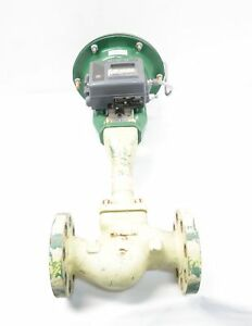 Fisher Gx Pneumatic 300 Steel Flanged Dvc2000 2in Control Valve