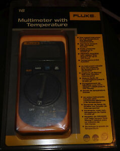 Fluke 16 Multimeter Brand New In Package Free Ship