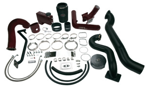 Wehrli Fab Cast S475 Twin Over Stock Turbo Kit For 2006 2007 Lbz Duramax Diesel
