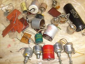 Sprague Red Door Knob Capacitor 500mmfd 20kvdc And Many Others