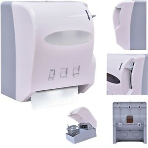 Roll Paper Towel Dispenser Durable Wall Mount Heavy Duty Commercial Home Use