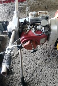 Ground Hog Gas Earth Drill 2 Man Post Hole Auger Digger Honda G200 5 Hp Motor