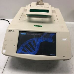 Bio rad C1000 Touch Thermal Cycler Thermocycler Tested And Working Nice