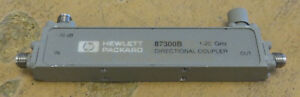 Hp Agilent 87300b 1 20ghz Directional Coupler