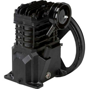 Vt4823 Campbell Hausfeld 2 Hp Air Compressor Cast Iron Pump With Flywheel