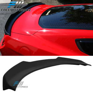 Fits 15 19 Ford Mustang Coupe H Style High Kick Trunk Spoiler Wing Abs