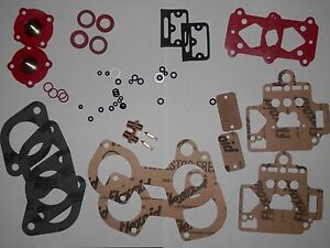 Dellorto 40 Dhla Carburetors Service Kit For One Pair