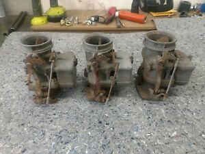 3 Vintage Stromberg 97 Carburetors Rat Hot Rod Ford Flathead V8 3x2 Hemi Olds 32