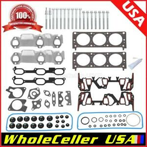 For Chevrolet Pontiac Buick 3 1l Cylinder Head Gasket Bolts Kit Oe Repl