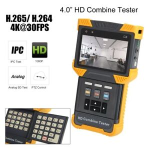 Dt t70 4 Ipc Cctv Tester Analog Sd hd tdr Rj45 Cable Test Hd Combine Tester