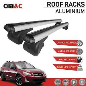 Subaru Xv Roof Racks Cross Bars Carrier Rails Alu Set With Tuv