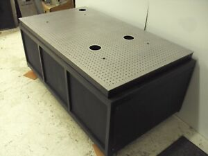 Crate Ship 60 Newport Optical Table Roll Around Bench Breadboard Laser