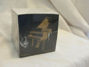 Piano Note Cube Music Stationary Desk Accessory