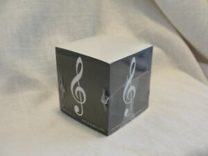 Treble Clef Music Note Note Cube music Stationary Desk Accessory