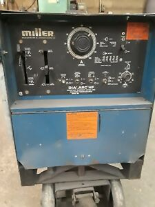 Miller Dial Arc Hf 250 Stick Tig Welder Works But Needs Hi Freq Fixed