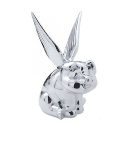 Pig With Wings Chrome Hood Ornament Free Shipping