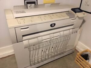 Xerox 6204 Wide Format Printer plotter And Copier