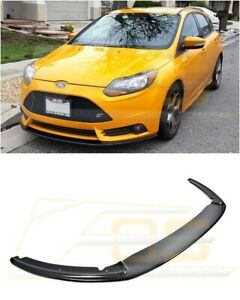 Imperfect Front Bumper Lower Carbon Fiber Splitter Lip For 12 14 Ford Focus St
