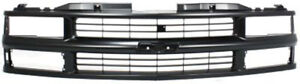 Black Grill Assembly For Chevrolet Blazer Pickup Suburban Tahoe Grille