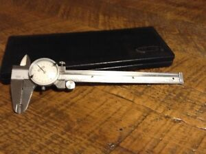 6 Dial Caliper Craftsman With Case Inspection