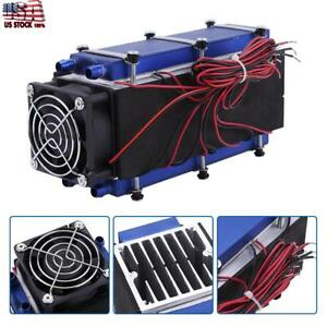 1x 12v 576w 8 chip Tec1 12706 Diy Thermoelectric Cooler Support 1 2 Cubes