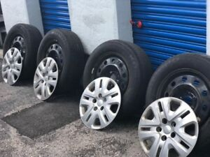 Dodge Grand Caravan Factory Rims 17 Inches With Tires