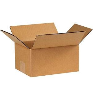 7x5x3 Cardboard Packing Moving Shipping Boxes Corrugated Box Cartons 100 To 400