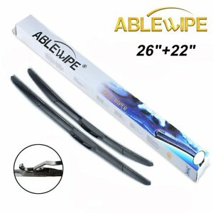 Ablewipe Windshield Wiper Blades Fit For Lexus Rx450h Rx400h Rx350 Rx330 Hybrid