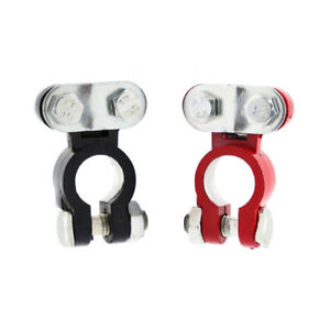 2 Pieces Car Truck Marine Boat Battery Terminal Clamp Clips Connectors