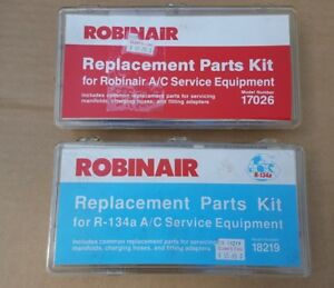 Robinair Service Replacement Parts Kit 17026 18219 For 134a Manifolds Hoses