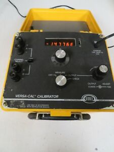 Biddle Versa cal Calibrator Thermocouple Millivolt Calibrator Ne21
