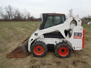 2006 Bobcat S185 Skid Steer Cab heat air Power bobtach Only 967 Hours