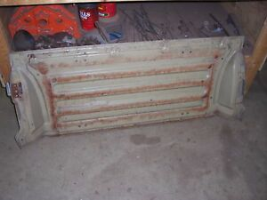 1967 1968 Chevrolet Impala Belair Wagon Interior 2nd Row Folding Seat Back Panel