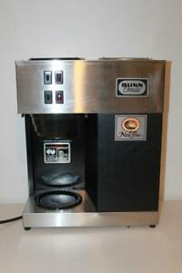 Bunn Vpr Commercial Coffee Maker Double Burner W Pot Exc Cond