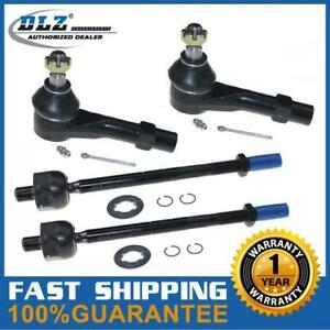 Front Suspension Kit Inner Outer Tie Rod End For 1998 2011 Ford Ranger