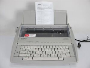 Brother Gx 6750 Daisy Wheel Electric Typewriter