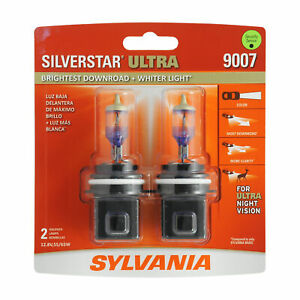 Sylvania 9007 Silverstar Ultra High Performance Halogen Headlight Bulb 2 Bulbs