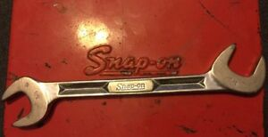 Snap On Tools 3 4 Sae Angle Head 4 Way Open End Chrome Wrench Vs5224