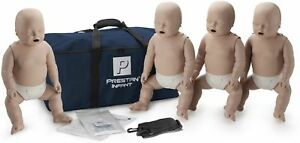 Prestan Infant Aed Cpr Manikins 4 Pack Medium Skin