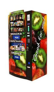 New Seaga Hy900 Healthy Combo Vending Machine For Snacks And Beverages
